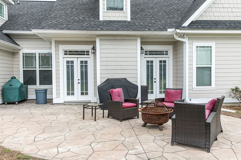 stamped concrete patio louisville ky
